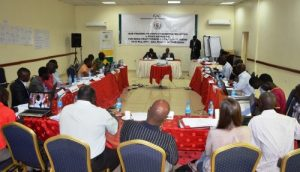 Journalists attending the IGAD training workshop (Photo credit: Gurtong). Many workshops are organized in effort to improve media.