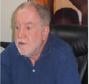 Plan International Director of International Programmes, Mr. Jonathan Mitchell, during a press briefing in Juba
